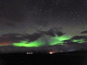 northern lights, night one